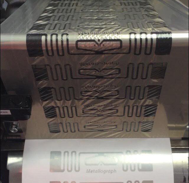 RFID Metallograph demo printing